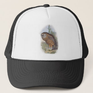 Vintage Whekau extinct laughing owl Trucker Hat