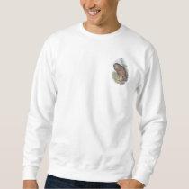 Vintage Whekau (white face) extinct laughing owl Sweatshirt