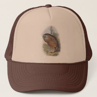 Vintage Whekau (white face) extinct laughing owl Trucker Hat
