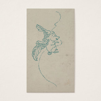 Vintage When Pigs Fly Business Card