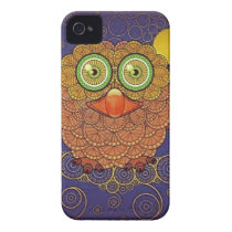Vintage Whimsical Owl iPhone 4 Cover