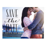 Vintage Whimsy   Photo Save the Date Postcard
