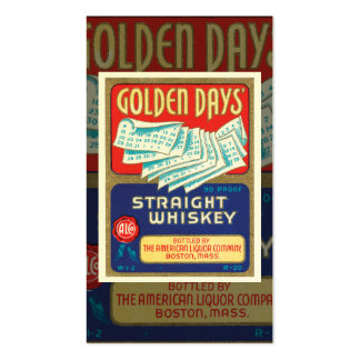 Vintage Whiskey Business Card