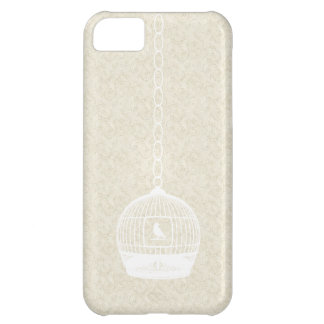 Vintage White Bird Case Cover iPhone 5 Case
