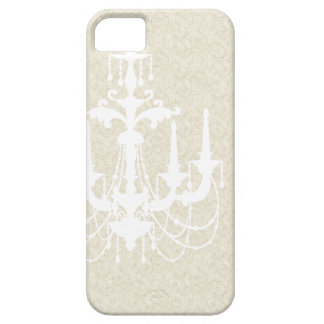 Vintage White Chandelier Cover iPhone 5 Case