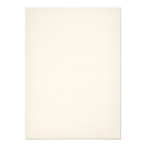 Vintage White Elegant Save the Date Invites (back side)