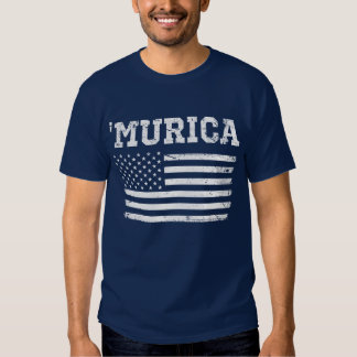 Vintage White Flag 'Murica T-shirt