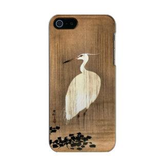 Vintage White Heron in the Rain Incipio Feather® Shine iPhone 5 Case