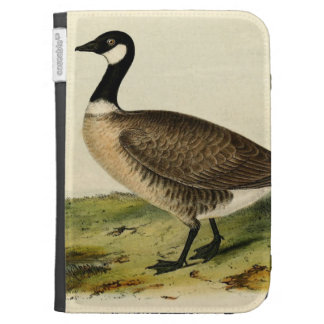 Vintage White Necked Goose Cases For The Kindle