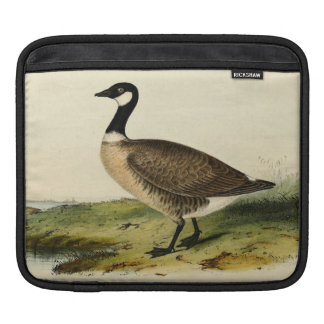 Vintage White Necked Goose Sleeve For iPads