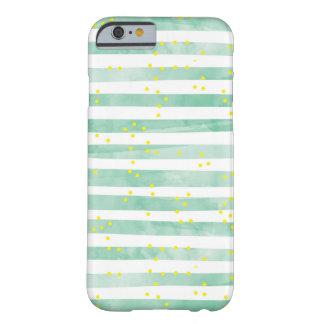 Vintage White Stripes Pattern iPhone 6 Case