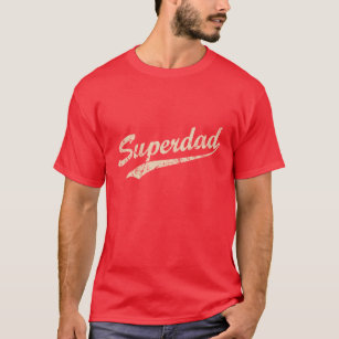 60caeddb56119 Vintage White Super Dad T-Shirt