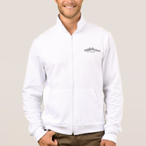 Vintage Whiting Fish - Aquatic Fishes Template Jacket