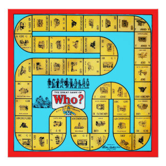 Vintage Who? Game - Archival Print
