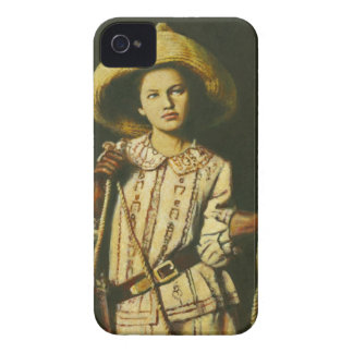 Vintage Wid West Cowgirl iPhone 4 Case-Mate iPhone 4 Case-Mate Case