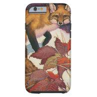 Vintage Wild Animals, Forest Creature, Red Fox iPhone 6 Case