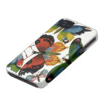 Vintage Wild Animals, Insects, Bugs, Butterflies Case-Mate iPhone 4 Case