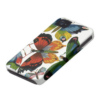 Vintage Wild Animals, Insects, Bugs, Butterflies iPhone 4 Cover