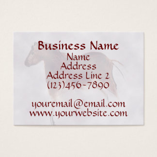 Vintage Wild Horse Cave Painting Business Cards