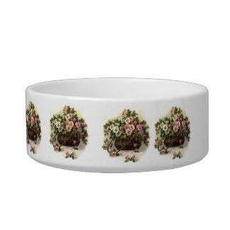 Vintage Wild Roses Bowl