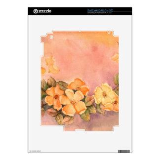 Vintage Wild Roses iPad 2 (Wi-Fi/Wi-Fi + 3G) Skin iPad 2 Decals