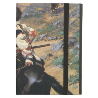 Vintage Wild West, An Indian Trapper by Remington iPad Air Case