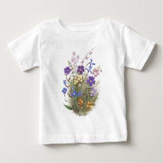 Vintage Wildflowers Baby T-Shirt