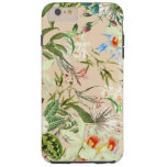Vintage Wildflowers Pattern Tough iPhone 6 Plus Case