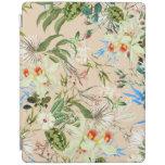 Vintage Wildflowers Pattern iPad Cover
