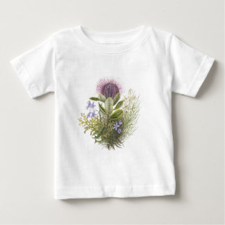 Vintage Wildflowers Thistle Baby T-Shirt