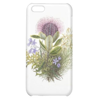 Vintage Wildflowers Thistle iPhone 5C Covers