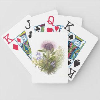 Vintage Wildflowers Thistle Card Deck