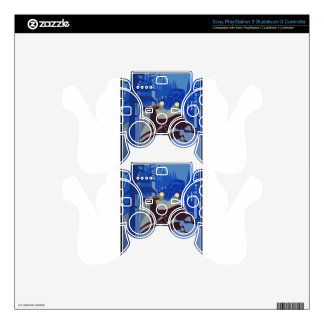 Vintage Wildlife Animal Skins For PS3 Controllers