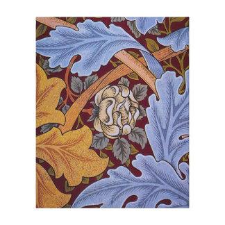 Vintage William Morris Acanthus Design Gallery Wrapped Canvas