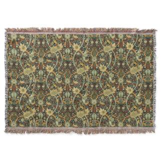 Vintage William Morris Bullerswood Carpet Throw