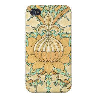 Vintage William Morris Design -  iPhone 4/4S Case