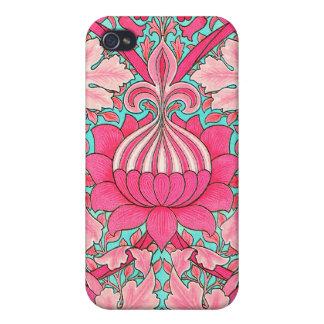 Vintage William Morris Design -  Cover For iPhone 4