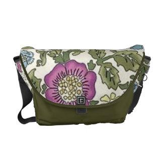 Vintage William Morris Floral Wallpaper bag Messenger Bag