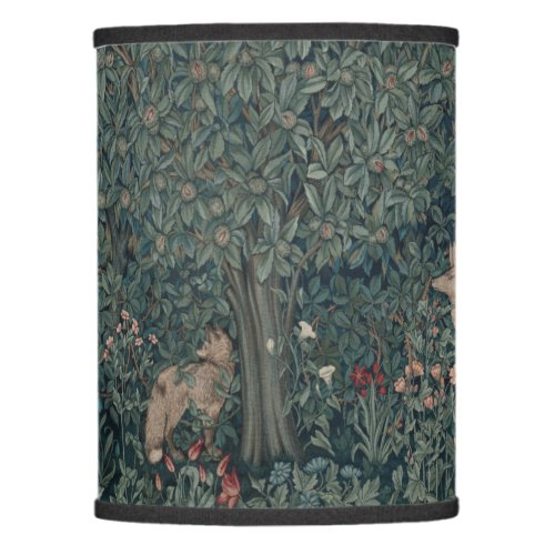 Vintage William Morris Greenery Forest Animals Lamp Shade