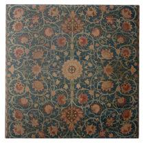 Vintage William Morris Holland Park Carpet Ceramic Tile