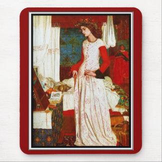 Vintage William Morris Königin Ginevra de Mousepad