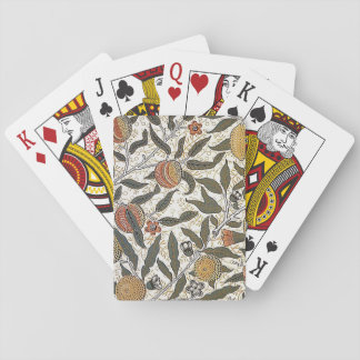 Vintage William Morris Pomegranate Playing Cards