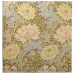 Vintage William Morris Pre Raphaelite Art Cloth Napkin