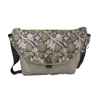 Vintage William Morris Pre Raphaelite Floral Bag Courier Bags