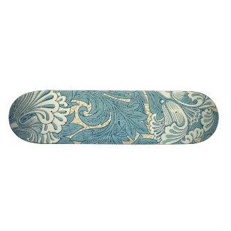 Vintage William Morris Tulip Floral Design Skateboard Deck