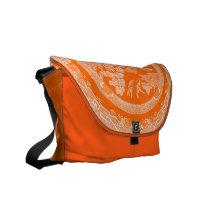 Vintage Willow Pattern Messenger Bag