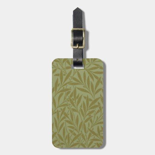 Vintage Willow William Morris Wallpaper Design Bag Tags