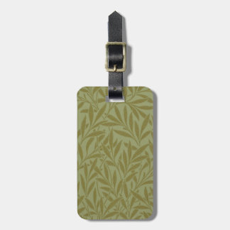Vintage Willow William Morris Wallpaper Design Luggage Tag