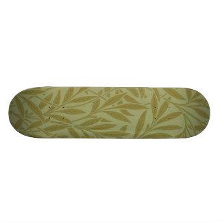 Vintage Willow William Morris Wallpaper Design Skate Board
