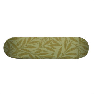 Vintage Willow William Morris Wallpaper Design Skateboard Deck